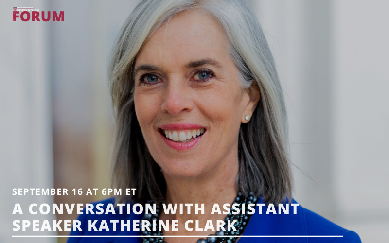 A Conversation with Assistant Speaker Katherine Clark
