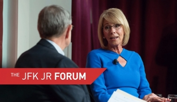 Embedded thumbnail for Education Secretary Betsy DeVos in the Forum
