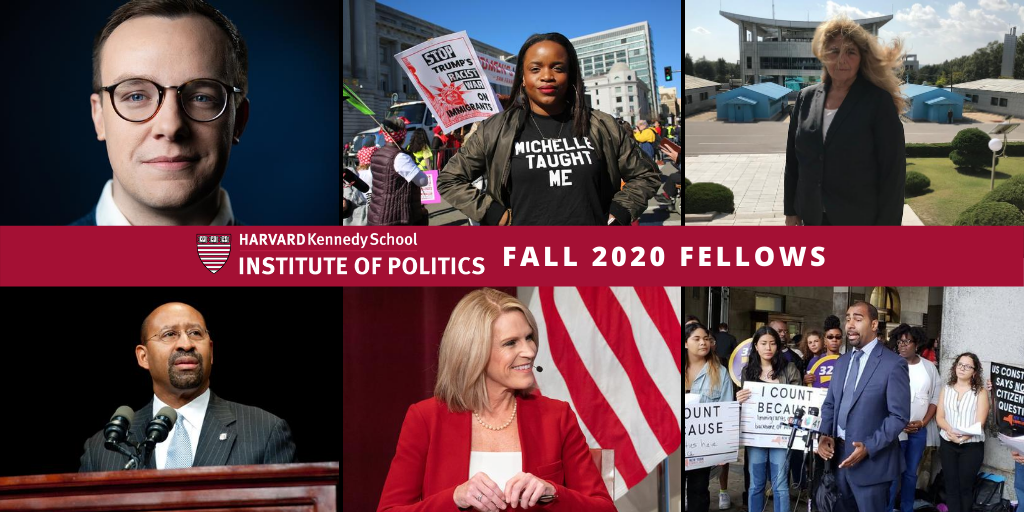 Fall 2020 IOP Fellows